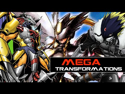 Digimon Story Cyber Sleuth - All Mega Transformations [COG INCORPORATED]
