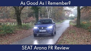 As Good As I Remember? SEAT Arona FR Review