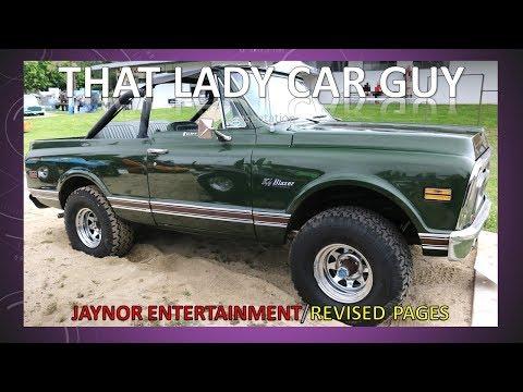 Steve McQueen 1970 Chevrolet K5 Blazer - Celebrity Car Finds 6 - That Lady Car Guy