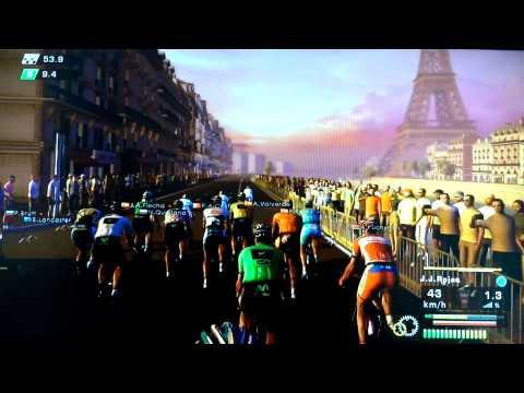Saison Movistar - Tour de France - Etapes 20 et 21