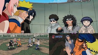 Naruto Gekitou Ninja Taisen! 4 Walkthrough Part 3 - Team 7  vs Team 8 1080p 60 FPS