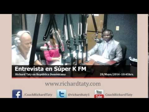 Richard Taty en entrevista Súper K 100.7 FM.