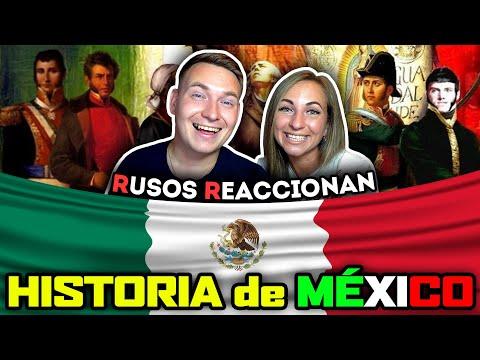 🇷🇺RUSOS REACCIONAN A HISTORIA De MÉXICO En 17 MINUTOS 🇲🇽| Reacción A Mexico
