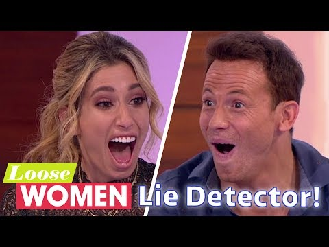 Lie Detector Reveals Shocking Truth About Joe Swash! | Loose Women