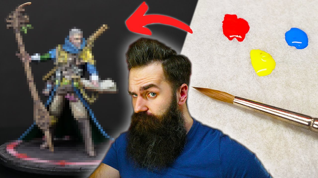 Can You Paint Minis With ONLY 3 COLORS?