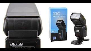 JJC SF-33 Manual Camera Flash Speedlite for Nikon Canon Camera POCKET WIZARD