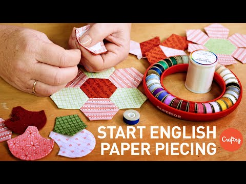 What is English Paper Piecing (EPP)? | Quilting Tutorial with Helen Stubbings