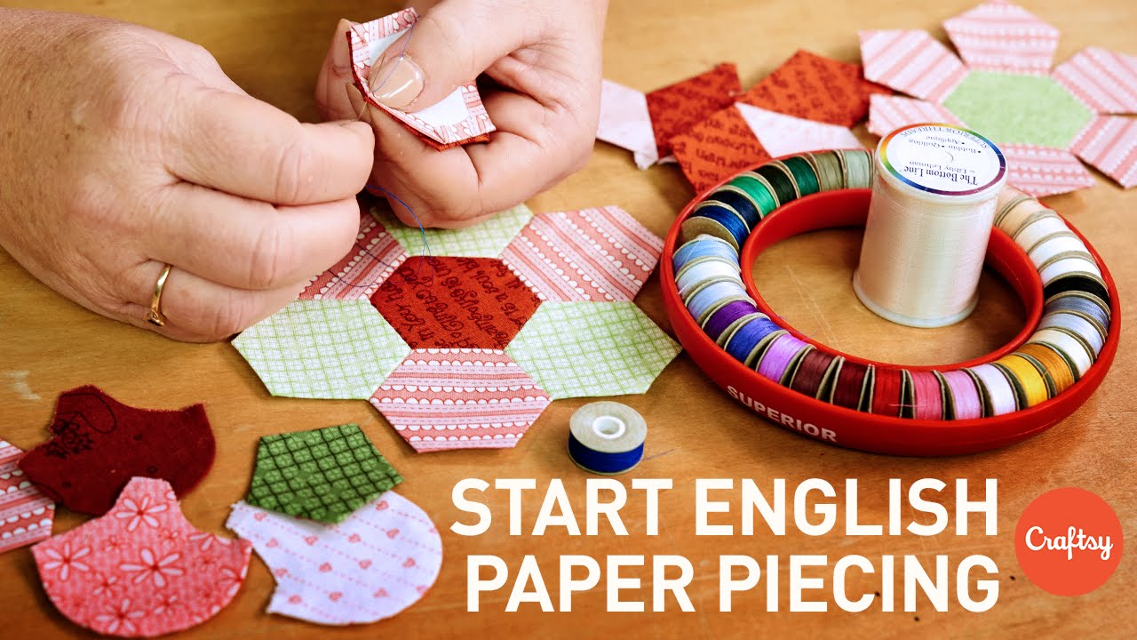 What Is English Paper Piecing Epp Quilting Tutorial