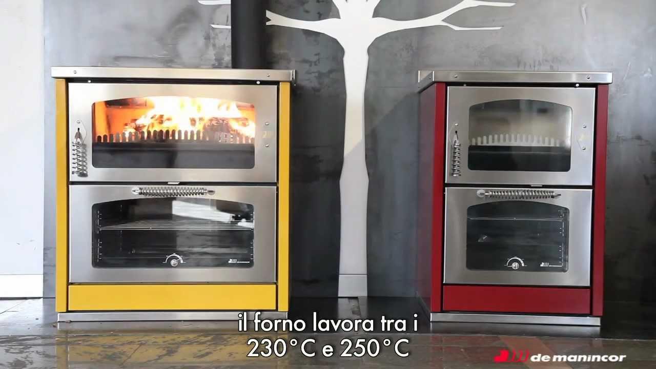 Cucine a legna Domino: accensione - YouTube