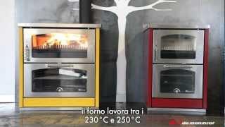 Gambar cover Cucine a legna Domino: accensione
