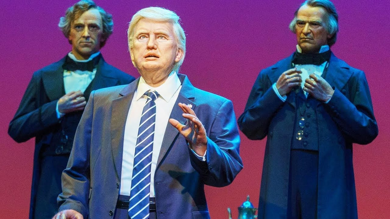 Disney Adds New Robot President Donald Trump To Its Hall Of Presidents.