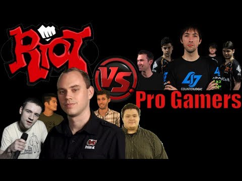LoL - Riot vs Pro Gamers - League of Legends