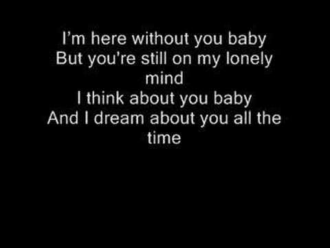 Here without you with Lyrics