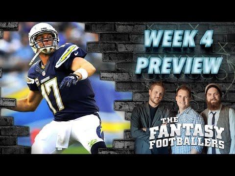 Week 4 Fantasy Forecast, Starts of the Week Ep. #102 - The Fantasy Footballers
