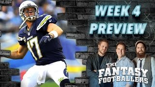 Week 4 Fantasy Forecast, Starts of the Week Ep. #102 - The Fantasy Footballers