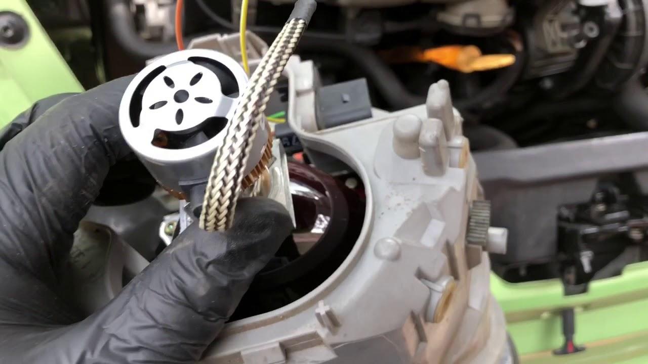 Upgrading New Beetle Headlight Bulbs To Led
