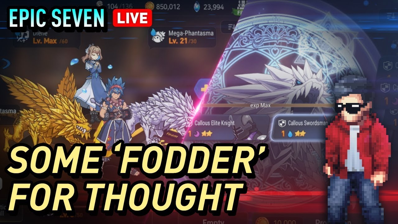Epic Seven Efficient Fodder Farming For Hero Promotions Youtube