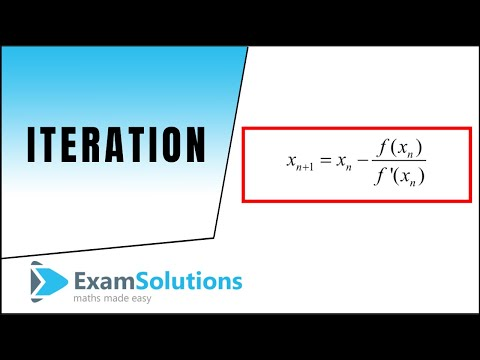 Iteration : ExamSolutions