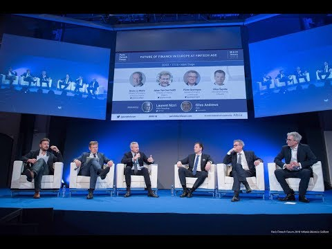 Paris Fintech Forum _ Panel Future of Finance in Europe at Fintech Age