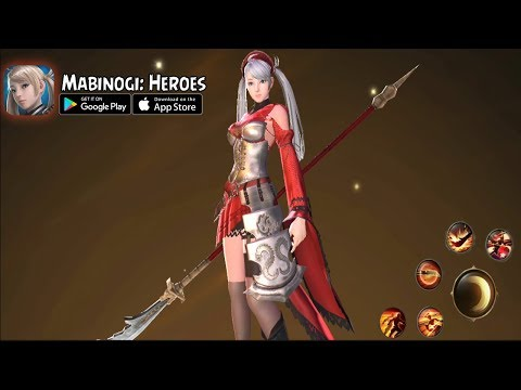 Mabinogi: Heroes Mobile New Version MMORPG  (Android/IOS)