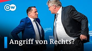 AfD: Wie ihre radikale Rhetorik & Aggressivität den Wahlkampf verschärft | DW Nachrichten