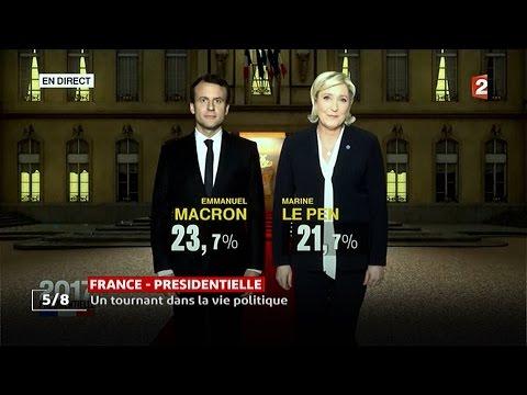 Présidentielles françaises: Aucun candidat des partis traditionnels ne passe au second tour