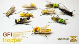 GFA Hopper - Foam Grasshopper Fly, Indicator Fly - McFly Angler Fly Tying Sessions