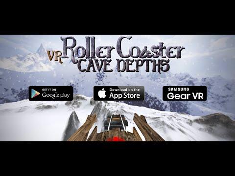 VR Roller Coaster Cave Depths