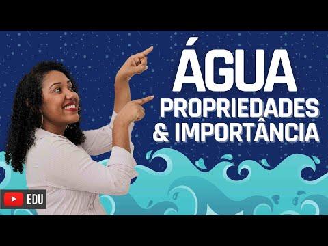 Aula: Importância da Água e suas propriedades