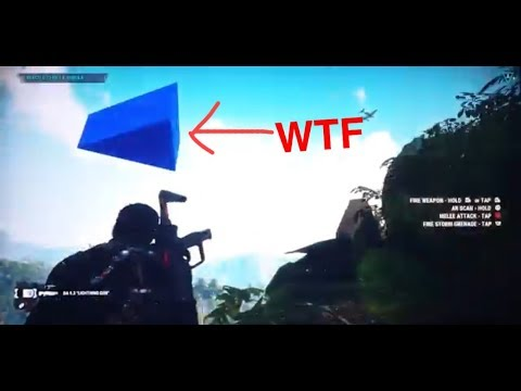 Just Cause 4 Weirdest Easter Egg Or Glitch Ever Plus Console