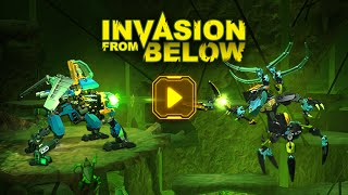 LEGO® Hero Factory - Invasion from Below Game Trailer