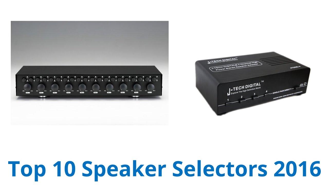 NEW 12 Speaker Selector.6 Zone Controller.Home Audio Stereo Switcher Center Hub