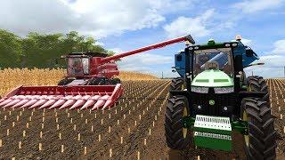 FARMING SIMULATOR 2017 | IOWA MAP | NEW KINZE GRAIN CART + STARTING CORN HARVEST | EP #2