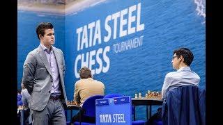 Gambar cover Carlsen - Duda, Tata Steel 2019