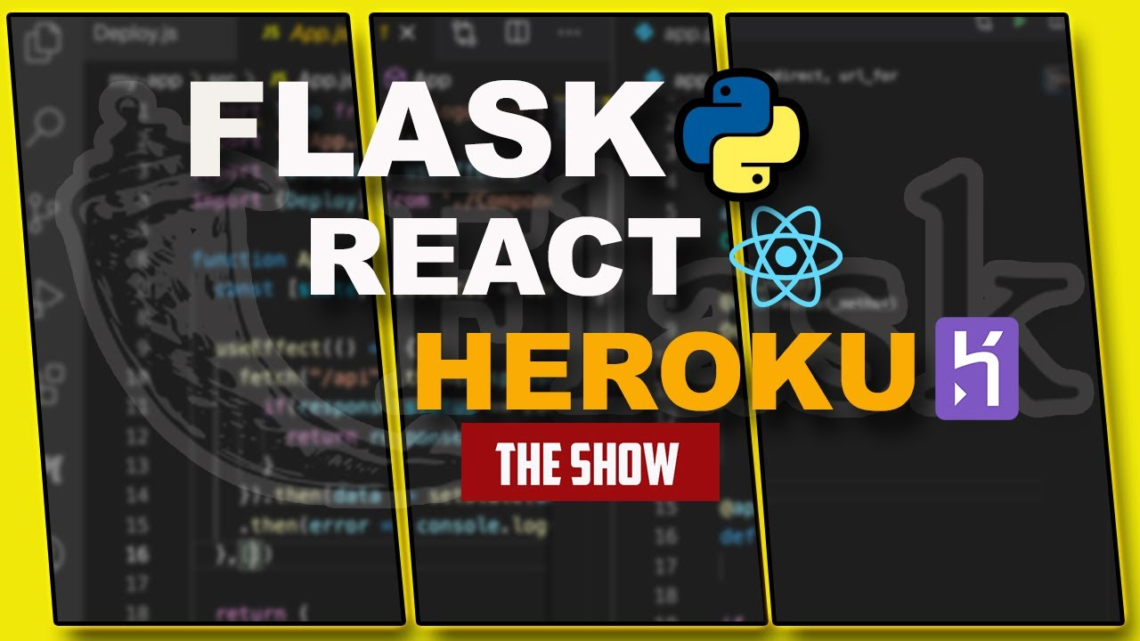 How To Deploy A Flask Rest API BackEnd And React FrontEnd To Heroku