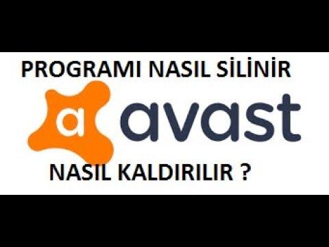Avast Antivirüs Programı Kaldırma | Silme | Programsız