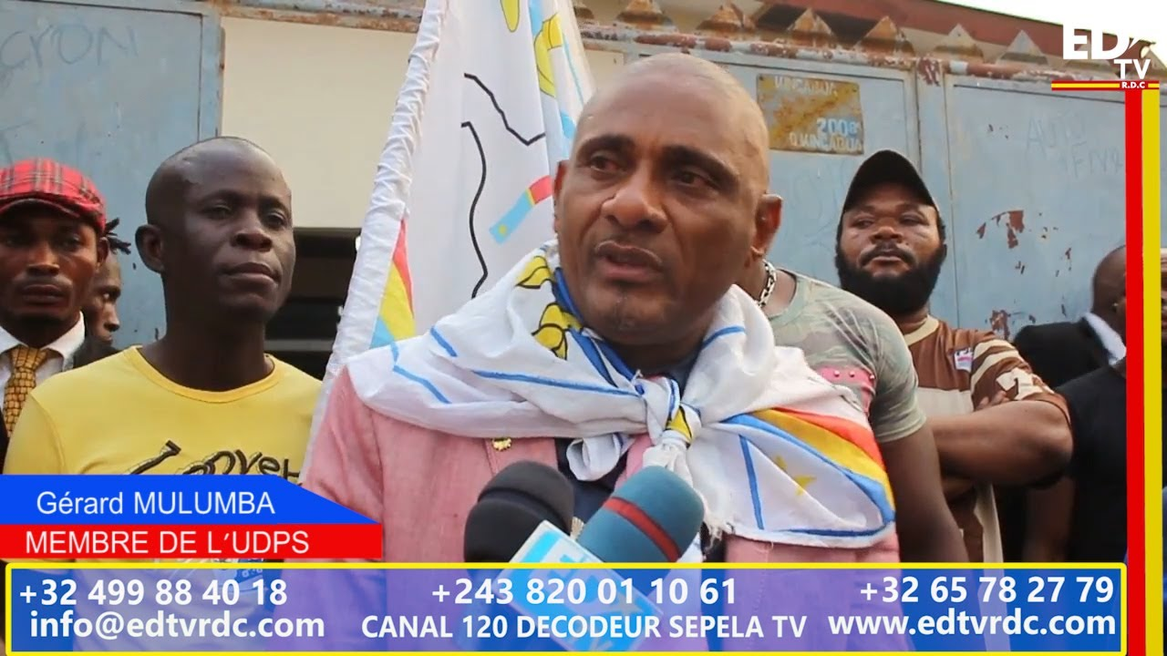 GECOCO MULUMBA PARLE DE SON ADHÉSION A L'UDPS