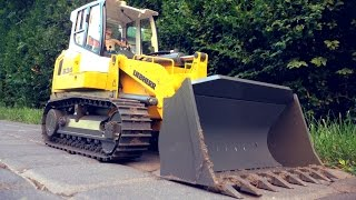 RC Liebherr Crawler Loader LR 634 Litronic - First Person View
