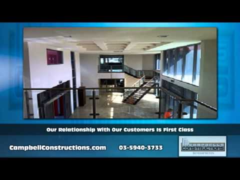 We specialise in commercial buildings in Pakenham VIC - Campbell Constructions Developments