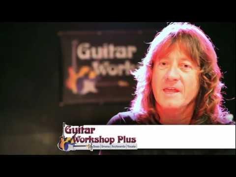 Dave LaRue & Jon Finn at Guitar Workshop Plus 2011 in Toronto
