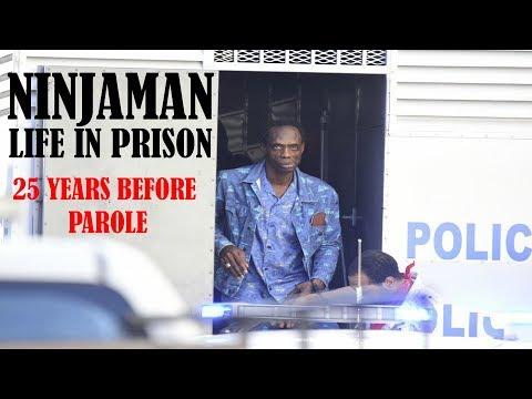 Ninjaman Gets LIFE imprisonment - 25 years Before Parole