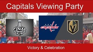 Stanley Cup Victory and Celebration - Washington Capitals Fans Outside Capital One Arena for Game 5