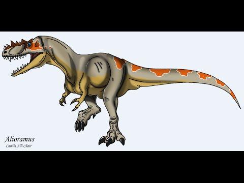 Dinosaurios: Alioramus (Rama diferente)