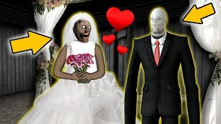 Granny Is GETTING MARRIED...To Slenderman!?!? (Wedding Mod)   Granny Gameplay