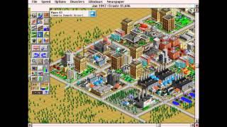 SimCity 2000 Walkthrough: Medium Level Part 1 of 2. [HD]