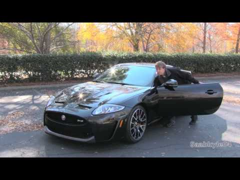 2015 Jaguar XKR S Coupe Convertible Start Up, Road Test, and In Depth Review