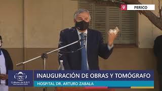 EN VIVO | Inauguración de obras y tomógrafo en el Hospital de Perico