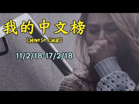 我的中文榜二十大 My Chinese Chart Top 20 Songs (11/2/18-17/2/18)