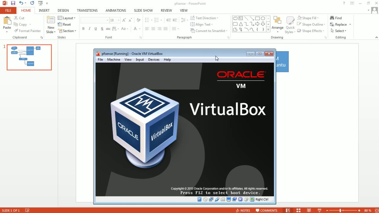 pfsense install on VirtualBox | How-to/Guide/Tutorial