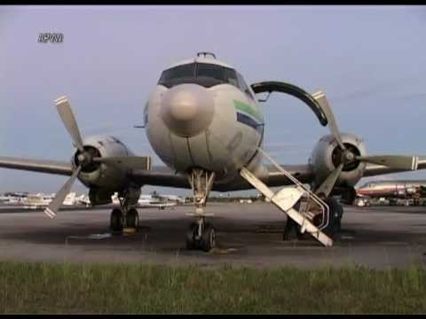 Miami Air Lease Inc. Convair C-131 engine run